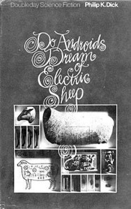 """""""Do Androids Dream of Electric Sheep"""" livro que inspirou a adaptação cinematografia pelas mãos do diretor Ridley Scott"""